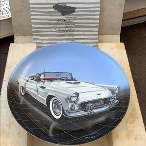 1956 FORD T-BIRD PLATE